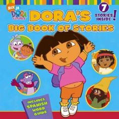 JJ FAVORITE CHARACTERS DORA. Collects seven stories about Dora's adventures as she teaches manners, goes to school, saves Boots, finds chocolate, visits the dentist, finds treasure, and meets her new baby brother and sister.