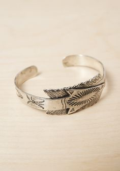 Bailey Hunter Robinson Wrapped Silver Arrow Cuff | Beautiful Dreamers