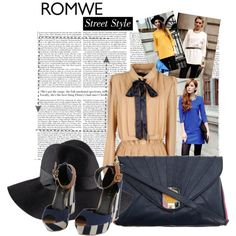 """Romwe"" by adriana-adrielle on Polyvore"