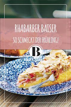Rhabarber Baiser schmeckt wunderbar fruchtig und leicht- wie der Frühöing!