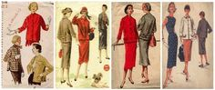 1950s Dressmaking Patterns - Glamour Fashion Fifties Sewing Pattern History