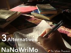 There's no doubt that NaNoWriMo rocks. Just thirty days of work in trade for a complete first draft? Awesome.  But that doesn't mean NaNoWriMo is for everyone. To succeed requires the perfect storm of story, determination, temperament, and an open schedule. Cranking out 1,666 words a day (yes, I did the math) is not for everyone.