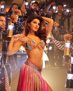Jacqueline in a still from the song 'Ek Do Teen'. Yay  or Nay ?