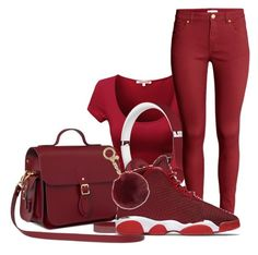 """""""Swag"""" by raquel-june ❤ liked on Polyvore featuring Beats by Dr. Dre, H&M, The Cambridge Satchel Company, NIKE and Michael Kors"""