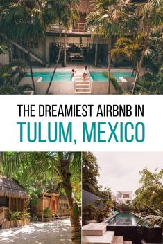 Where to stay in Mexico? Let me introduce you to the dreamiest Tulum Airbnb - for honeymooners, digital nomads & wanderers. Tree houses, jungle villas, beach condos, and chic rooms in Tulum town as well as Tulum Playa. As well as tips on how to book your Airbnb in Tulum. #mexico #tulum Airbnb in Tulum | Tulum Mexico Airbnb | Best Airbnb in Tulum | Rental houses in Tulum | Where to stay in Tulum | Tulum Accommodation | Where to stay on Tulum beach Tulum Mexico, Mexico Trips, Restaurant On The Beach, Tulum Beach, Beach Condo, Tree Houses, Mexico Travel, Condos, Solo Travel