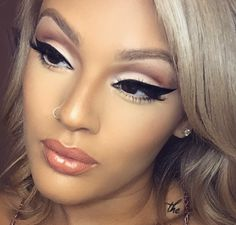Gorgeous Makeup Look; stop by #TopLevelSalon for this look
