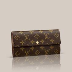 Sarah Wallet via Louis Vuitton