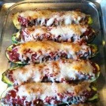 Stuffed Zucchini: Stuffed Zucchini