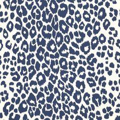 Schumacher - Iconic Leopard in Ink