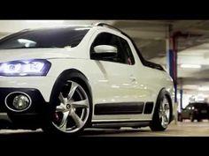 """VW Saveiro Aro 18"""" New Santorini Fixa - By Douglas Lopes - Obama Film's ..."""