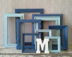 Picture Frames Small Frames set Frame Gallery by SavannahsCottage