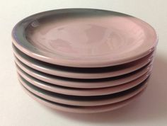 Hey, I found this really awesome Etsy listing at https://www.etsy.com/listing/129829829/tepco-china-bread-salad-plates-pink-and