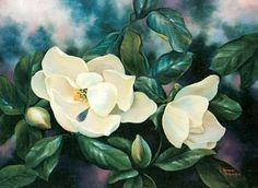 Magnolias 18x 24
