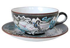 Porcelain Dragonware Cup