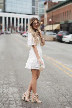 Au Natural Cotton Eyelet Dress
