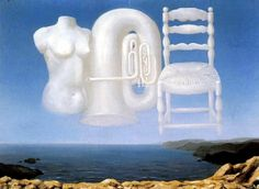 Le Temps Menaçant (Threatening Weather) - Rene Magritte - 1929 - National Galleries of Scotland.
