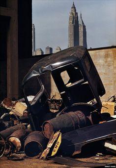 Brooklyn, New York, USA, 1952 by Ernst Haas