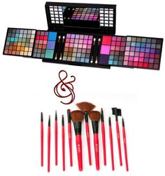 SHANY professional eyeshadow set: all the colors you'll need in one place!