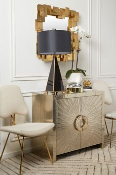 The Jonathan Adler Talitha Console Cabinet is fab as a buffet, flanking a doorway, or as a small dresser in your bedroom. Add a rich hippie vibe to your Park Avenue penthouse or a bit of twinkly glamour to your downtown loft.
