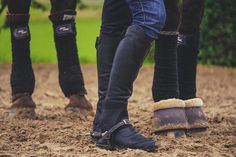 ALL BLUE EVERYTHING WITH ARIAT & PIKEUR - Rider Fashion by Dylaras