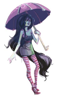 Adventure Time - Marceline the Vampire Queen by Marika *