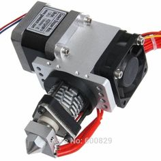 All Metal Assembled GT5 Extruder SH43 For 3D Printers Extrusion nozzle 0.3mm/0.35m/0.4mm/0.5mm