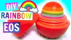 Rainbow EOS | DIY EOS Lip Balm