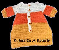 Ravelry: Candy Corn Bunting pattern by Peggy Su Besco & Jessica A Esterly