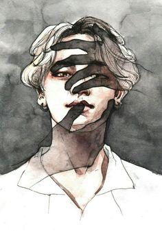 Jimin BTS. Talented artist