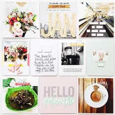 Project Life 2015 | Week 4 by findingnana at @studio_calico