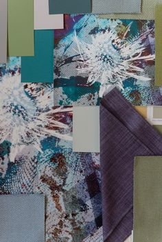 emerald thistle wallpaper by mairi helena, mood board ideas