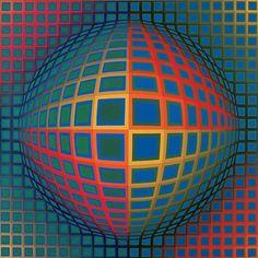 : اثر ویکتور وازارِلی نقاش مجاری-فرانسوی که او را پدر اُپ آرت (هنر دیدگانی) مینامند. این اثر با تکنیک رنگ روغن روی بوم کار شده و یک نمونه عالی از اُپ آرت به شمار می رود. توهم وجود این کره با تغییراتی که در رنگ و خطوط داده شده است به وجود آمده  سایز اصلی (51×51 سانتیمتر) - 65,000 تومان  لینک سفارش chapboo.com/content/462  #چاپبو #نقاشی #فرانسه #اُپ_آرت #وگا_نُر #ویکتور_وازارلی #چاپ #بوم #هنر #مدرن #مدرنیسم #chapboo #painting #france #opart #victor_vasarely #modern_art #modernism #prints