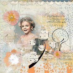 Artful Marks #4 Bundle by Jen Maddocks Layout by Traumelfe #digitalscrapbooking #memorymaking #layout #inspiration