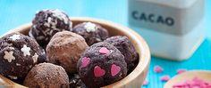 Sono dei dolcetti ideali come merenda per i bambini: uniscono il cacao con le proprietà dei fichi, che contengono potassio, calcio e fosforo.