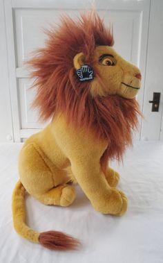 The Lion King Adult Simba Plush Stuffed Toy Disney by TraSheeWomen