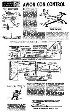 Planitos de Lúpin - Avión con control a caña