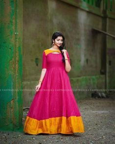 Stylish Dresses For Girls, Stylish Dress Designs, Dress Neck Designs, Fancy Blouse Designs, Designs For Dresses, Indian Long Dress, Party Wear Indian Dresses, Long Dress Fashion, Indian Fashion Dresses