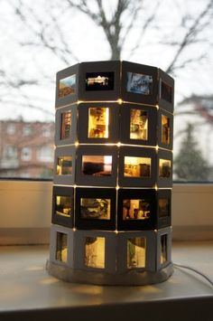 photo slides lamp