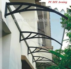 "485.00$  Buy now - http://ali79s.worldwells.pw/go.php?t=2026083008 - ""YP 100480 -ALU 100x480 cm 39""""x189"""" aluminum alloy bracket canopy, metal front door canopy,window and door awning,door shelter"" 485.00$"