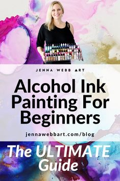 Alcohol Ink Glass, Alcohol Ink Crafts, Alcohol Ink Painting, Resin Crafts, Resin Art, Acrylic Pouring Art, Diy Canvas Art, Copics, Painting Tips