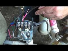 how to change a well pump pressure switch - Google Search Well Pump Pressure Switch, Well Pressure Tank, Well Pump Cover, Spiral Staircase Plan, Submersible Well Pump, Well Tank, Professional Electrician, Pump House, Pipe Sizes