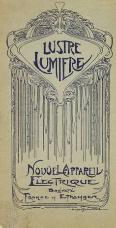 """Le lustre lumière"" [nouvel appareil electrique] breveté en France et à l'Étranger, 20th century. Trade Catalogs.The Metropolitan Museum of Art, New York. Thomas J. Watson Library (b11974497) 