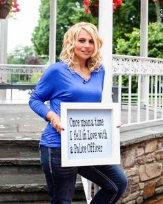 #1 Fallen Officer This past May, Mary Beth Eslary's life was changed forever, when her police Lieutenant husand, Eric Eslary died in a head on collision with a drunk driver.