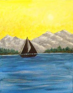 Georgian Bay painting.