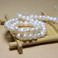 Wholesale mm Natural Freshwater Potato Shape Pearl Beads For Jewelry Making DIY Bracelet Necklace Material Strand Price history. Pearl Bracelet, Diy Bracelet, Pearl Necklace, Coral, Bead Store, Bijoux Diy, Jewelry Making Beads, Pearl Beads, Fresh Water