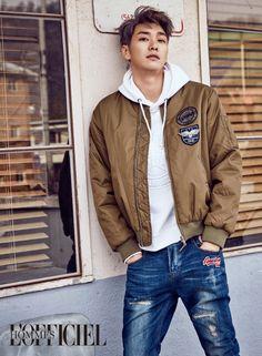 Kim Young Kwang L'Officiel Hommes Korea February 2017 Look 1