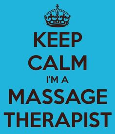 Keep Calm I'm A Massage Therapist!  Come to Pressure Point Massage Therapy in Southfield, MI for a FANTASTIC massage!  Call us NOW at (248) 358-8800 to book your appointment!  Feel free to visit our website www.pressurepointmassagetherapy.com for more information!