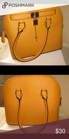 Aldo Bag Aldo Mustard color satchel. Used once! Aldo Bags Satchels