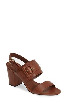 Cole Haan 'Amavia' Slingback Leather Sandal (Women) available at #Nordstrom