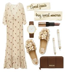"""""""Special Friends Bring Special Memories"""" by queenrachietemplateaddict ❤ liked on Polyvore featuring France Luxe, Tory Burch, Kenneth Cole and Bobbi Brown Cosmetics"""